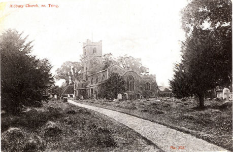 Parish Church, Aldbury, near Tring, Herts, Chanwisk Series Post Card
