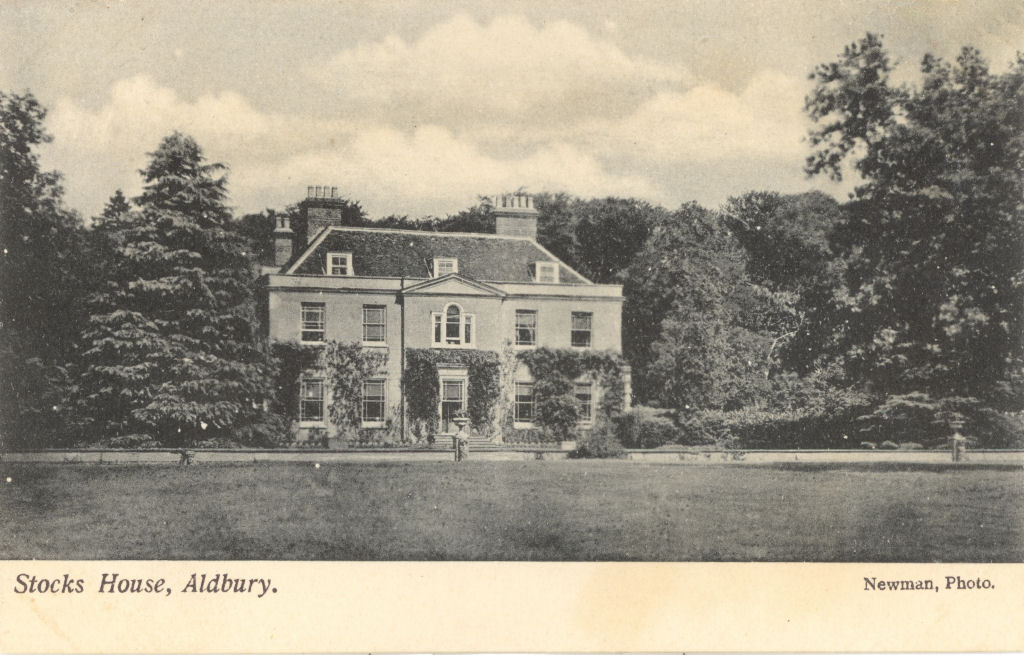 Stocks House, Aldbury, Post Card by Newman
