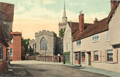 Street View showing Baldock Parish Church