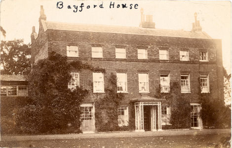 Bayford House, Bayford, Hertfordshire, home of Georgina and Adelaide Randolph