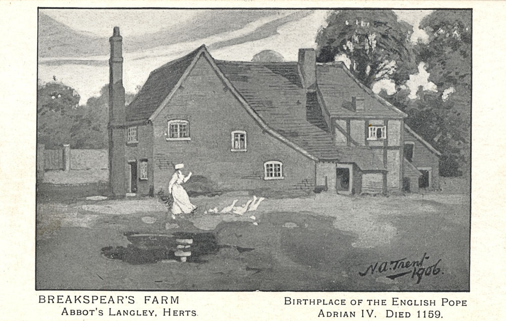 Breakspeare Farm, Bedmond, Abbots Langley, Pope Adrian IV