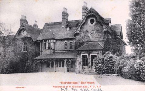 Hertfordshire Genealogy Places Boxmoor Herts