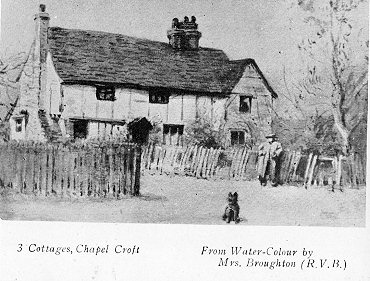 Cottages, Chapel Croft, Chipperfield