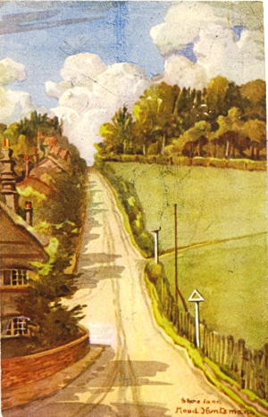 Shire Lane, CHorley Wood, by Maud Huntsman