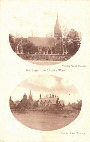 The Church and Vicarage, Chorley Wood, Herts