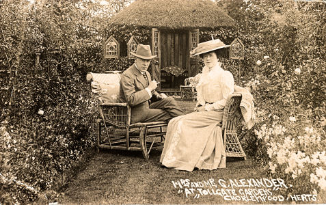 Sir George Alexander (actor manager) and his wide Florence