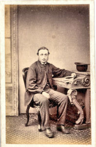 James Maymard of Correred, photographed by George Avery of Hitchin