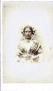 Maria Maynard of Cottered, photograph by Avery of Hitchin
