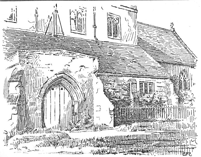 South Porch, St Leonard's Church, Flamstead, Hertfordshire, 1902