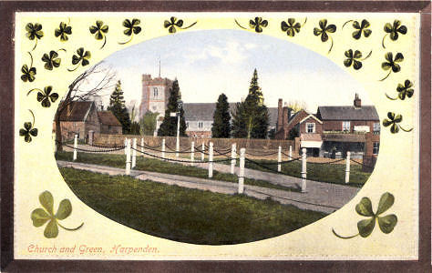 Church & Green, Harpenden, Castle Series of View Cards No 513