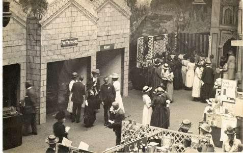Missionary Exhibition circa 1920, photographed by Robinson Harris of Hemel Hempstead.