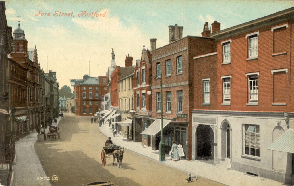 Hertfordshire Genealogy Places Hertford Fore Street