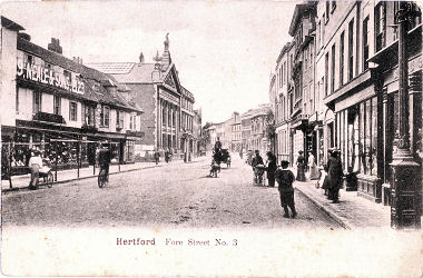 Fore Street, Hertford, Herts - Hertfield Series - circa 1903 picture