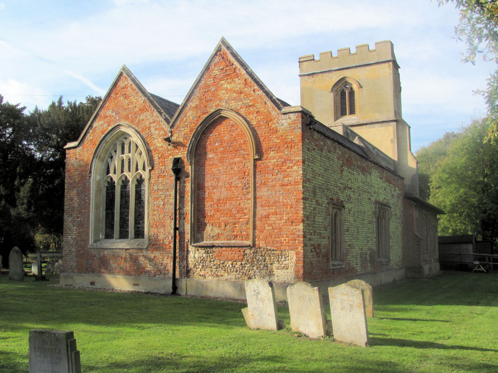 Picture of St Faith, Hexton, Herts, parish church