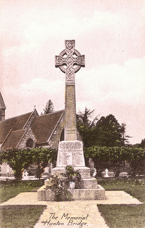 Abbots Langley War Memorial, Hunton Bridge, Hertfordshire - Rexatone Series