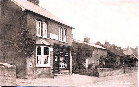 "Title: Kimpton Post Office - Publisher: G Matthews, Post Office Stores, Kimpton, Herts - ""The Vilcan Series"" - Dated ?"