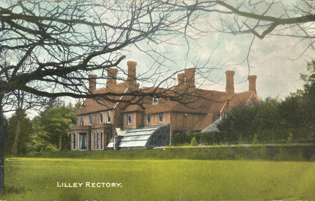 Lilley Rectory, Lilley, Herts, Post Card