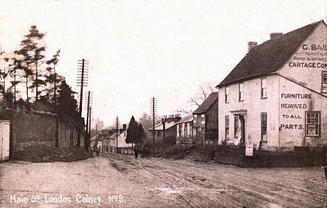 Main Street, London Colney, Herts circa 1905