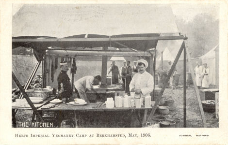 Herts Imperial Yeomanry Camp at Berkhamsted, 1906