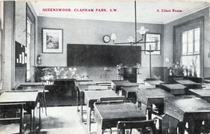 Queenwood School, Clapham Park, circa 1905, by Photo Tourists Association