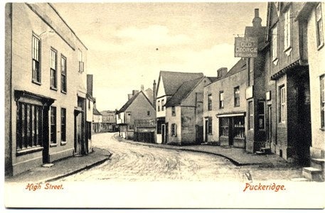 Puckeridge High Street in the early 1900s