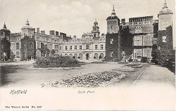 South Front of Hatfield House, circa 1903, by Wrench