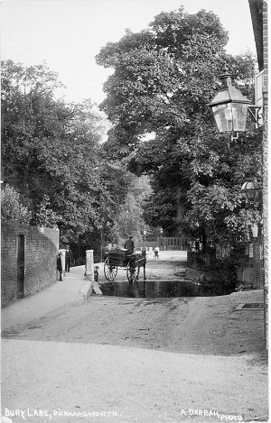Bury Lane, Rickmansworth, by Darrah