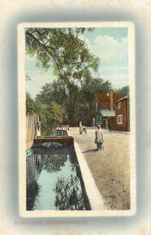 Bury Lane, Rickmansworth by Valentine