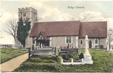 Title: Ridge Church - Publisher: Cowling's Series - inused circa 1910