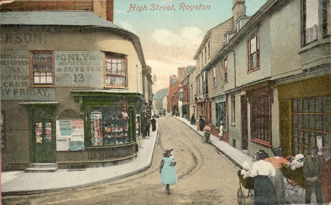 hertfordshire genealogy places high street royston herts