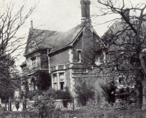 The house built by Frederick Sander in Camp Road, St Albans.