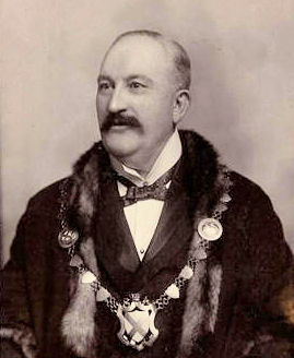 Thomas Oakley, Mayor of St Albans, Herts, 1897-8, from St Albans Museum collection