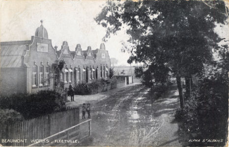 Beaumont Works, Fleetville, St ALbans - Post Card by Alpha, St Albans