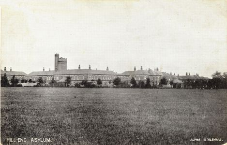 Jill End Asylum, St Albans, Herts - Post card by Alpha