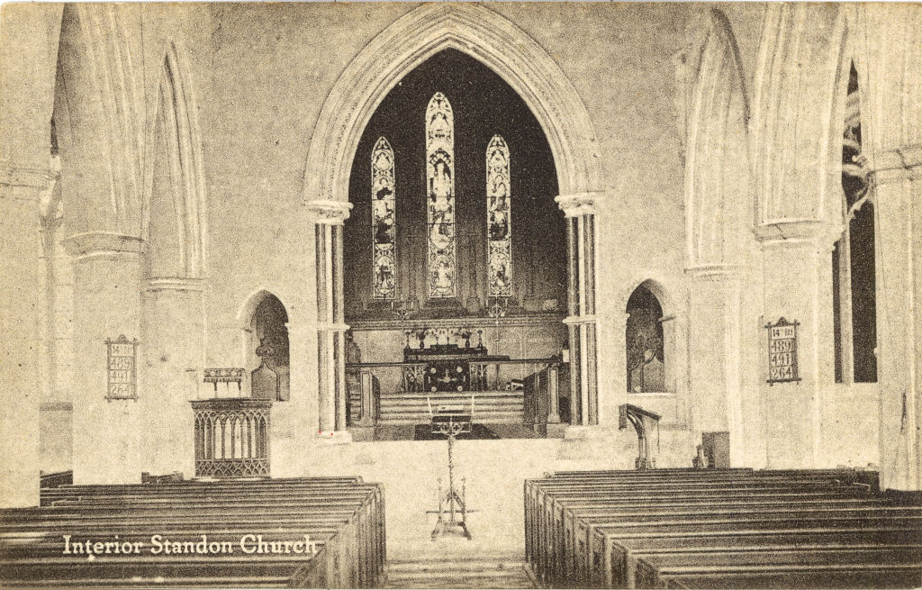 Place Standon St Mary S Church Hertfordshire Genealogy