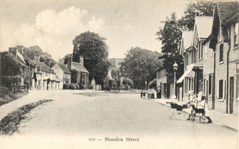 Standon Street, Standon, Hertfordshire - pc by Gordon Smith