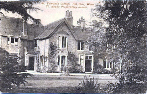 Title: St Edmunds College, Old Hall, Ware: St Hughs Prepatory School - Publisher: J Russell & Sons, Wimbledon - Date: 1920s?