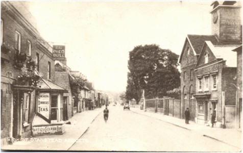 "Title: High Street, Stanstead Abbotts - Publisher: The Post Office, Stanstead Abbotts, Herts ""The Vulcan Series"" - Date: posted 1926"
