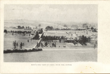 Post Card of Western end of Tring circa 1900