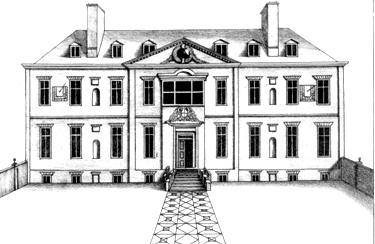 Tring Mansion Circa 1700 From Chauncy