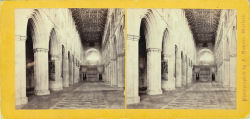 Stereoscopic View of St ALbans Abbey