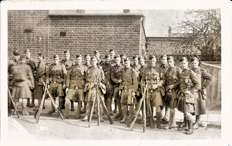 London Scottish - World War 1 - Photographer Cull, Watford