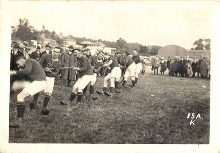 Tug of War, Watford, 1920s?, by Cull