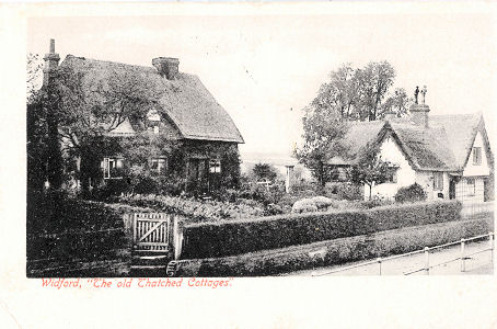 Thatched Cottages at Widford, Herts - Hatfield Series