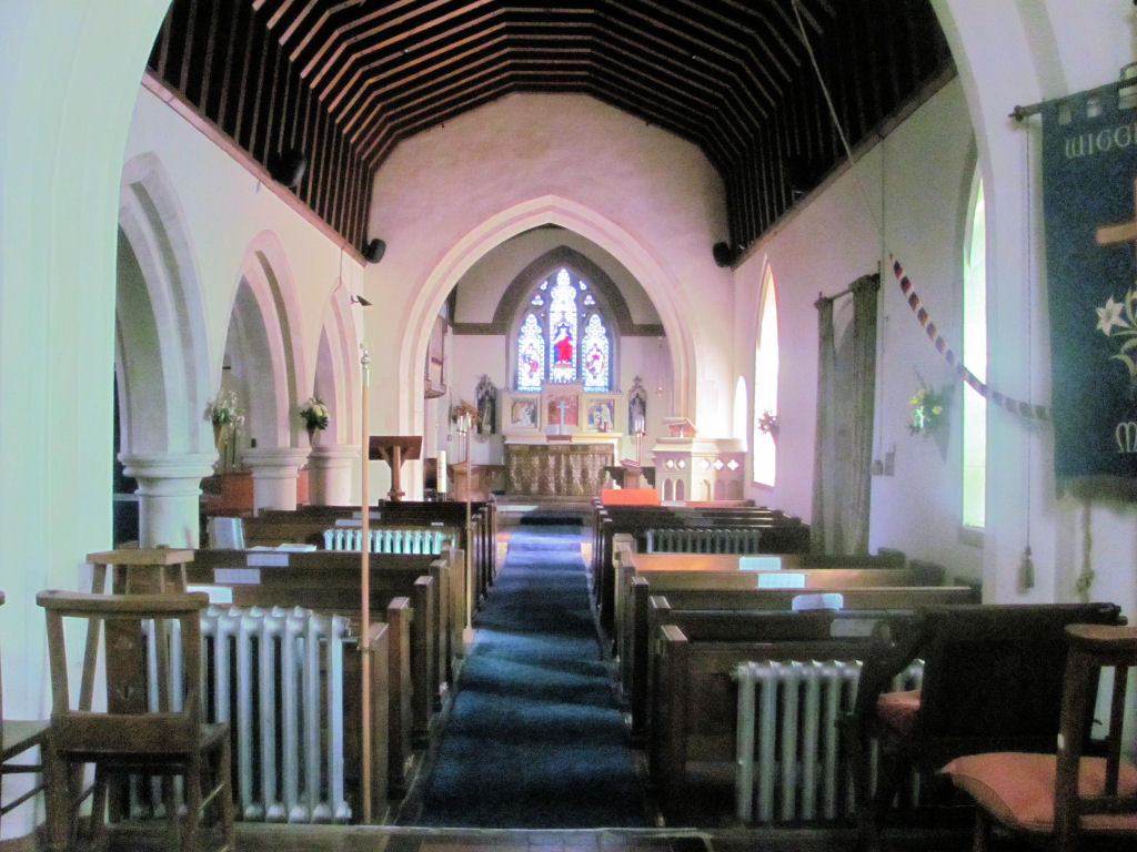 The Nave, St Bartholomew's Church, Wigginton, Hertfordshire