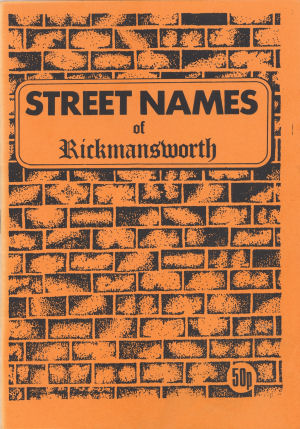 Booklet: Street Names of Rickmansworth