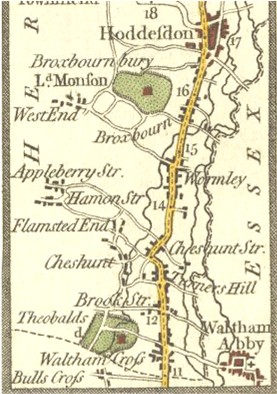 Hertfordshire Genealogy Places Cheshunt